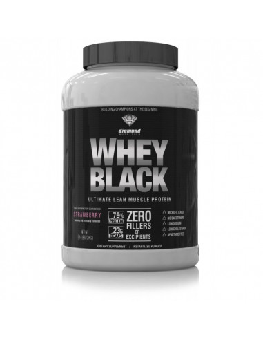 Whey Black 2kg - Diamond Nutrition