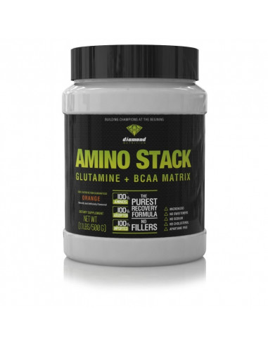 Amino Stack 500 gr (Glutamina+Bcaa's), Diamond Nutrition