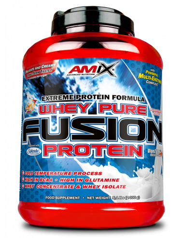 Whey Pure Fusion 2,3kg - Amix Nutrition