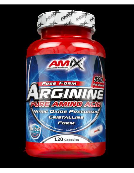 Arginine 500 mg 120 capsulas - Amix Nutrition