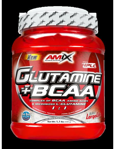 Glutamine + BCAA  530 gr - Amix Nutrition
