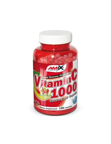 Vitamin C 1000mg 100caps - Amix Nutrition