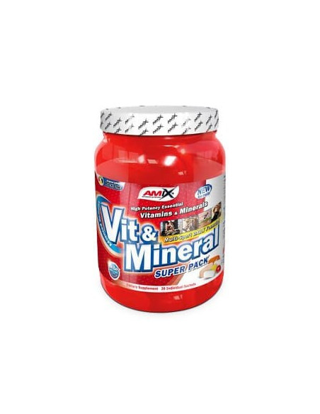 Vit & Mineral Super Pack 30 - Amix Nutrition