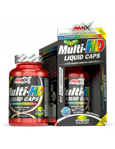 Multi-HD - 60 cápsulas liquidas