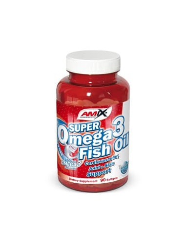Super Omega 3 Fish Oil 90 Softgels - Amix Nutrition