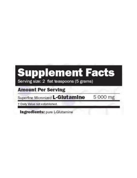 Glutamina Micro Powder 500 gr - Amix Nutrition